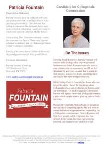 CWLI Patricia Fountain Bio